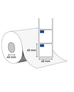 1402-0172 Etiketten auf Rolle 40x40/40 mm