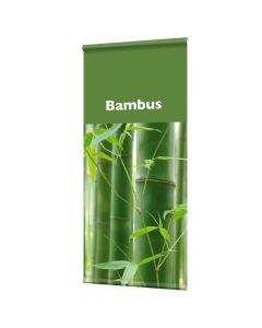 """Banner """" Bambus"""" mit Hohlsaum"""