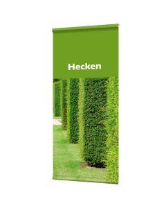 """Banner """"Hecken"""" mit Hohlsaum"""