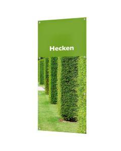 """Banner """"Hecken"""" mit Ösen"""