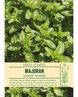 Sortenschild, Origanum majorana