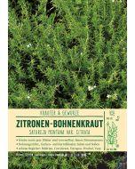 Sortenschild, Satureja montana var. citrata