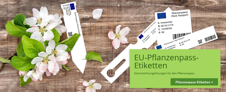 EU-Pflanzenpass-Etiketten
