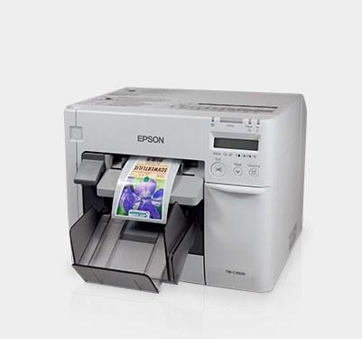 Farbtintenstrahl-Etikettendrucker